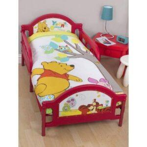 Parure copripiumino lettino con sponde Winnie The Pooh