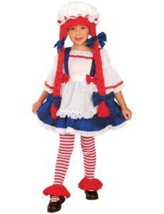 Costume di carnevale Bambola di Pezza