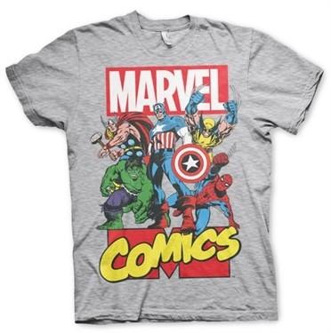 Marvel Comics Heroes T-Shirt
