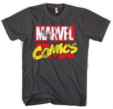 Marvel Comics Retro Logo T-Shirt