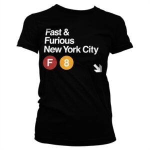 Fast & Furious NYC T-shirt donna