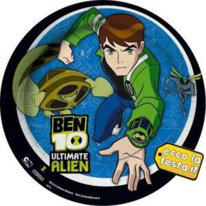 Piatti per festa Ben 10 Ultimate Alien