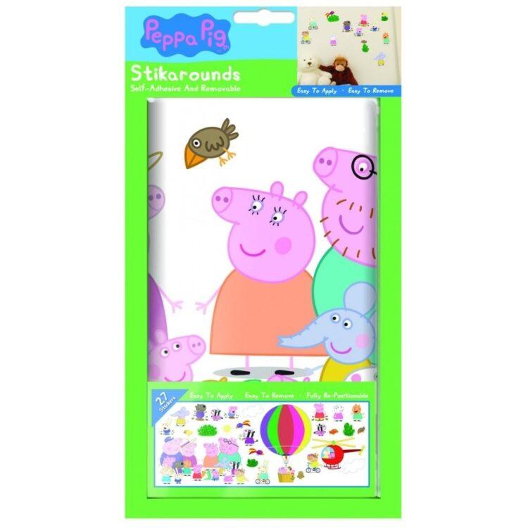 Adesivi da parete Peppa Pig Mongolfiera
