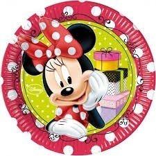 Piatti festa Minnie Fashion