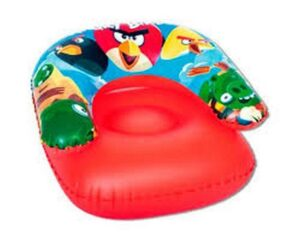 Poltroncina gonfiabile bimbo Angry Birds