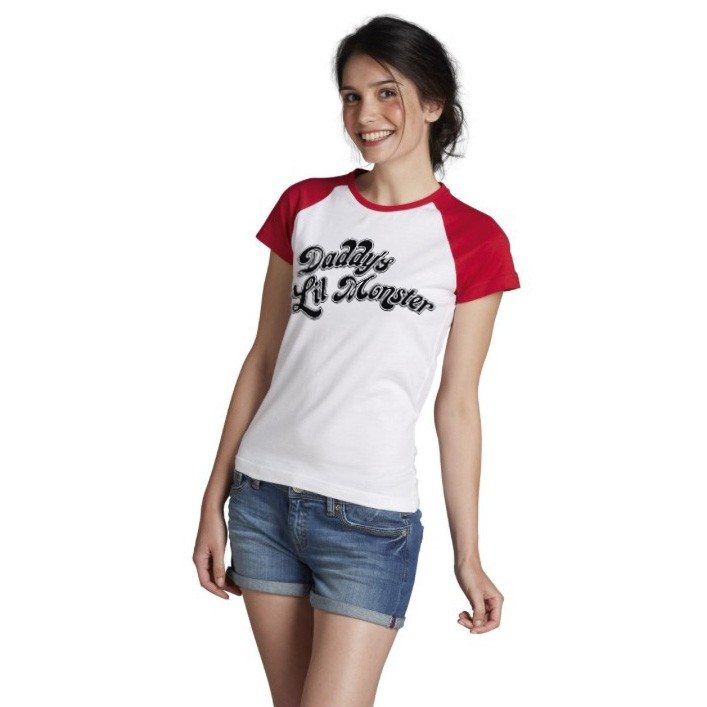 Daddy's Lil Monster Baseball T-shirt donna