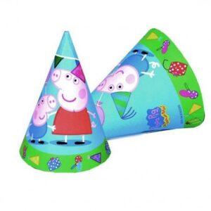 Cappellini festa Peppa Pig