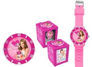 Set regalo orologio e sveglia Violetta Disney