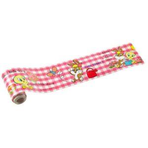 Bordo adesivo Looney Tunes Baby rosa