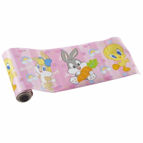 Bordo adesivo XL Titti e i suoi amici rosa