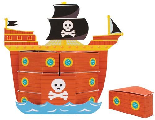 Centrotavola Nave dei Pirati