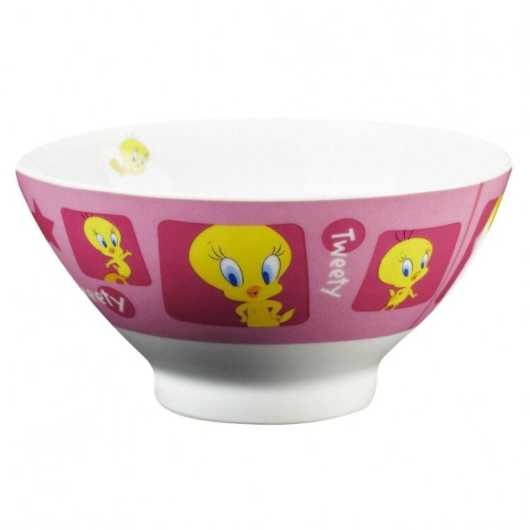 Tazza scodella in ceramica Titti
