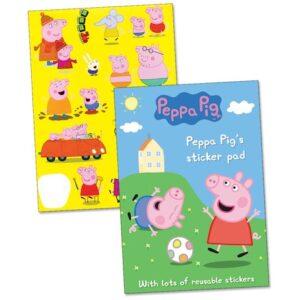 Blocco Adesivi Peppa Pig