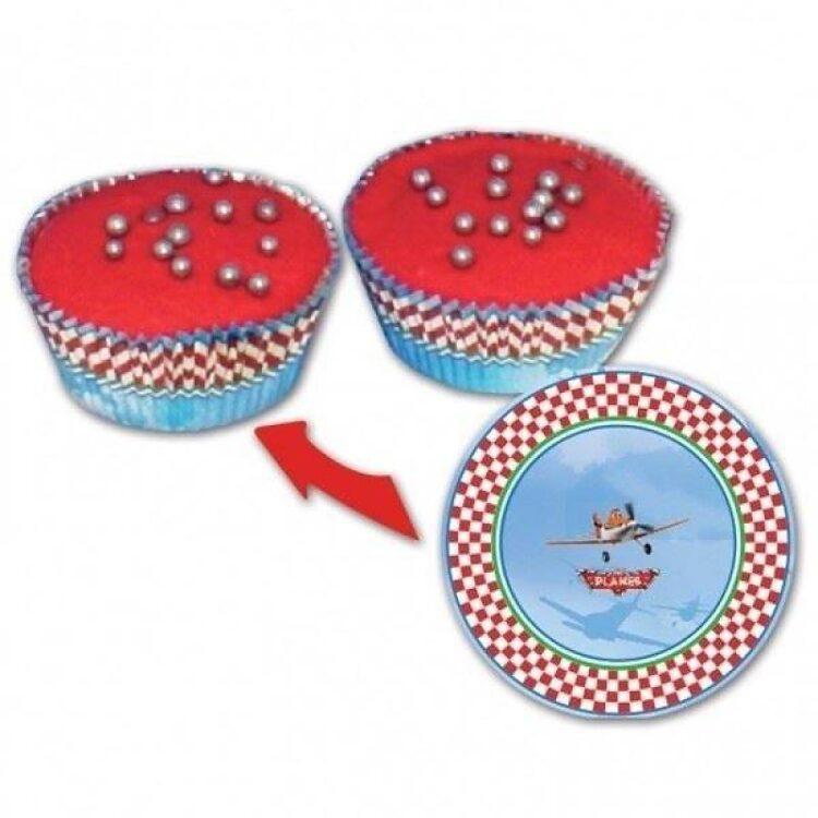 Pirottini per cup cake Disney Planes
