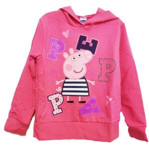 Felpa Peppa Pig Marinaia con cappuccio