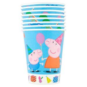 Bicchieri festa Peppa Pig