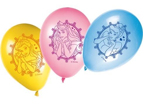 Confezione palloncini Principesse Disney 8pz