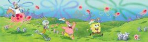 Bordo per cameretta Spongebob