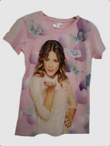 T-shirt Violetta Disney
