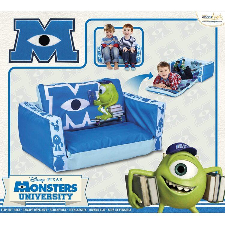 Divanetto Letto gonfiabile Monsters University