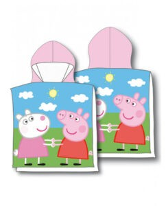 Accappatoio poncho Peppa Pig George