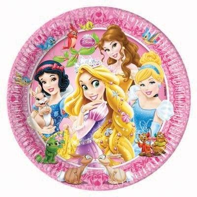 Piatti festa Principesse Disney