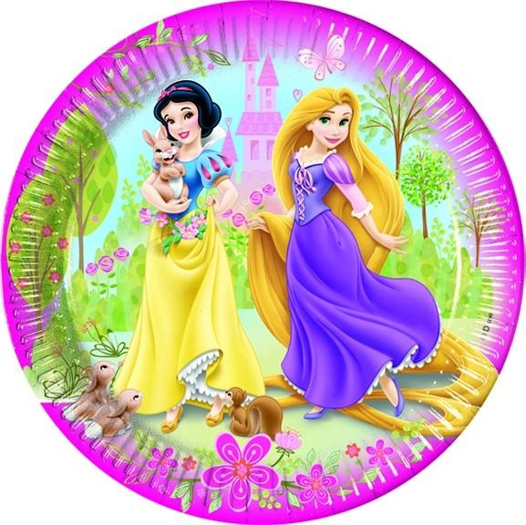 Piatti torta Principesse Disney Summer Palace