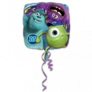 Palloncino quadrato ad elio Monster University