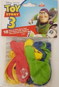 Confezione 18 palloncini in lattice Toy Story