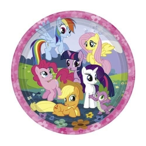 Piatti festa My Little Pony 8pz