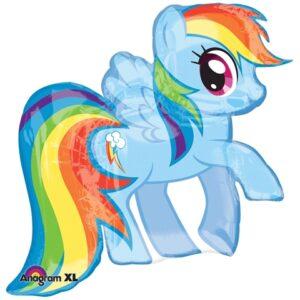 Palloncino sagomato Super Shape My Little Pony Rainbow Dash
