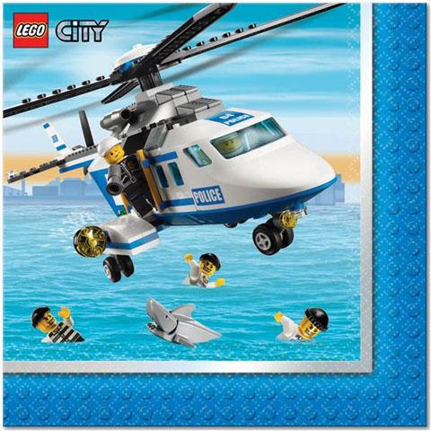 Tovaglioli Festa Lego City