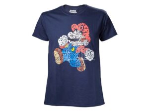 T-shirt adulto Super Mario Nintendo