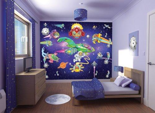 Murales Avventura con gli Alieni Walltastic