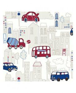 Carta da parati automobiline