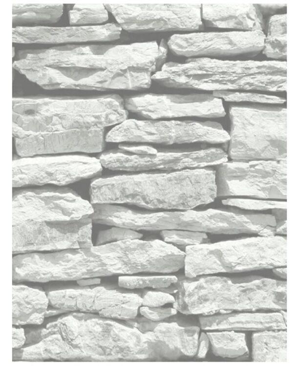 Carta da parati Moroccan Stone - bianca- 10mt