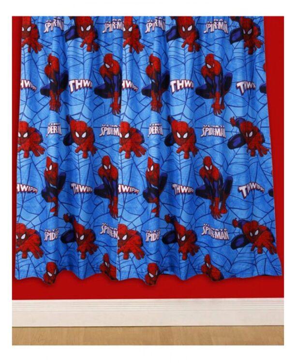 Tende per cameretta Spiderman City 137cm