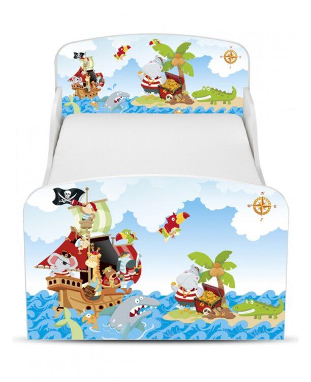 Lettino Pirati con cassettone