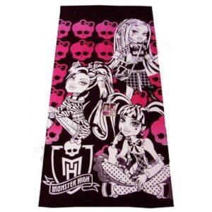 Asciugamano Telo Mare Monster High Teschi