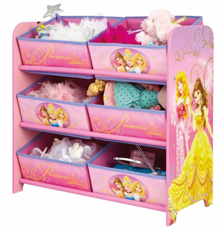 Mobiletto contenitore Principesse Disney