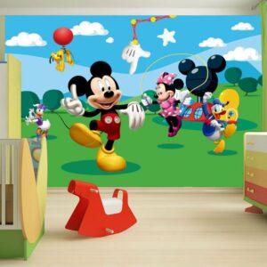 Fotomurale Topolino e Friends 254 x 360cm