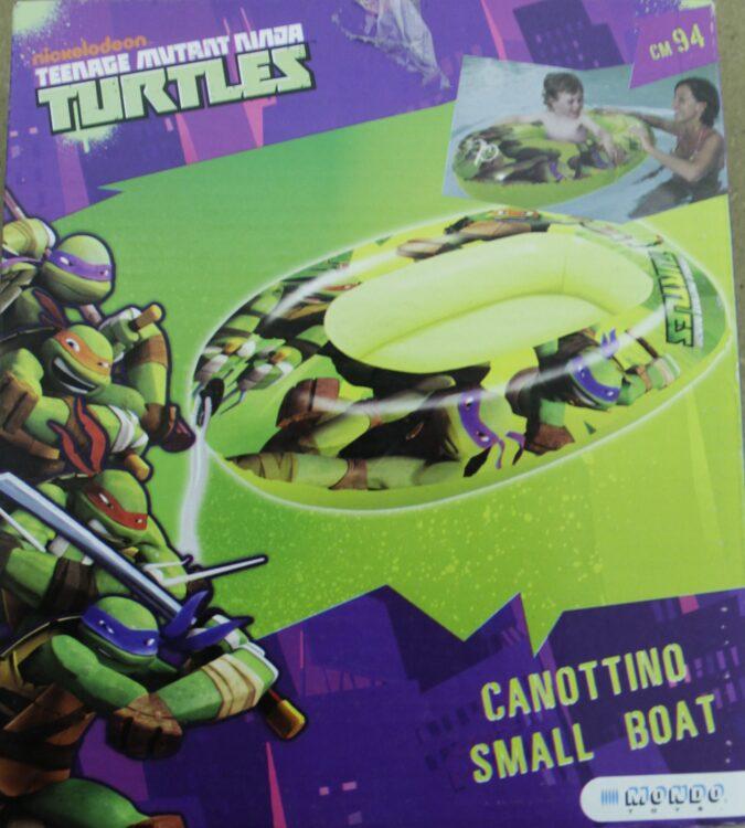 Ninja Turtles Canotto Gonfiabile 94 Cm