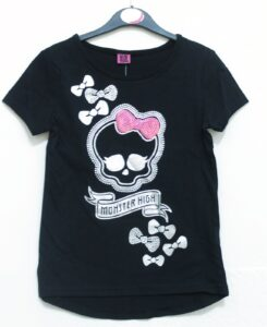 T-Shirt bimba Monster High