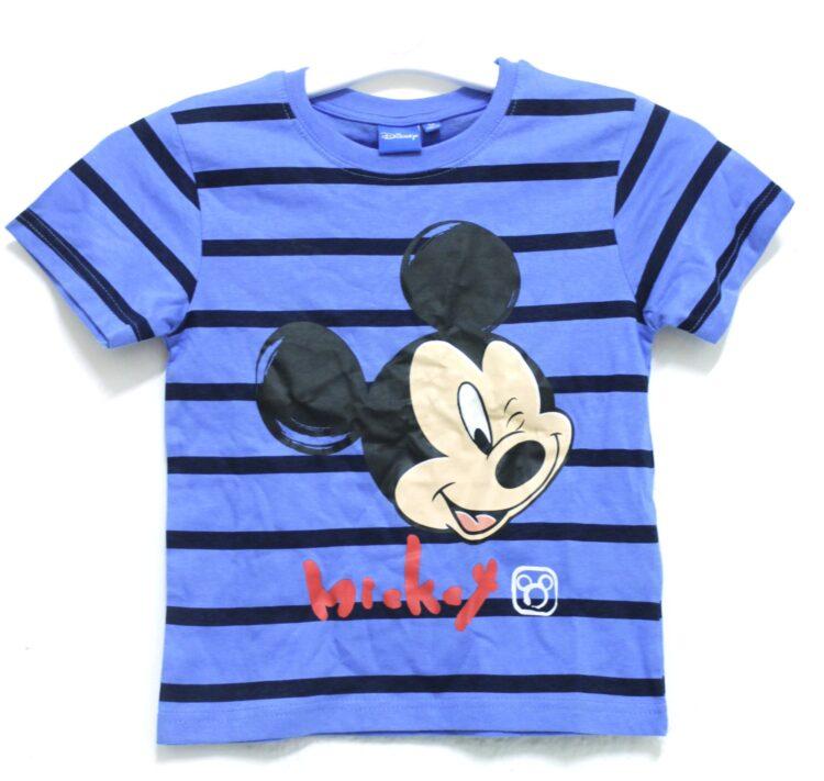 T-shirt righe Disney Topolino taglia 5 anni