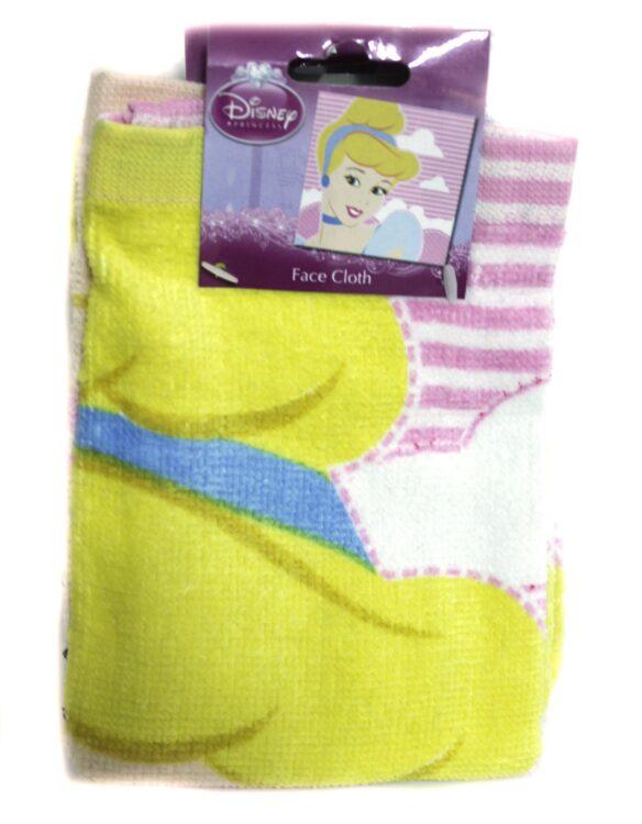 Coppia Asciugamani viso Principesse Disney