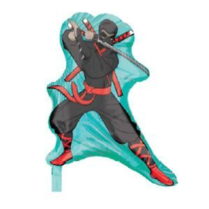 Palloncino in mylar Ninja
