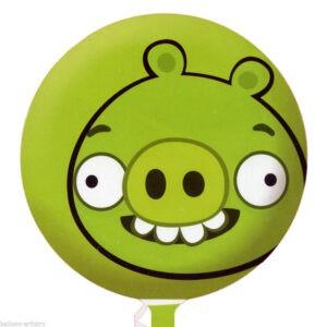 Palloncini a elio verdi Angry Birds