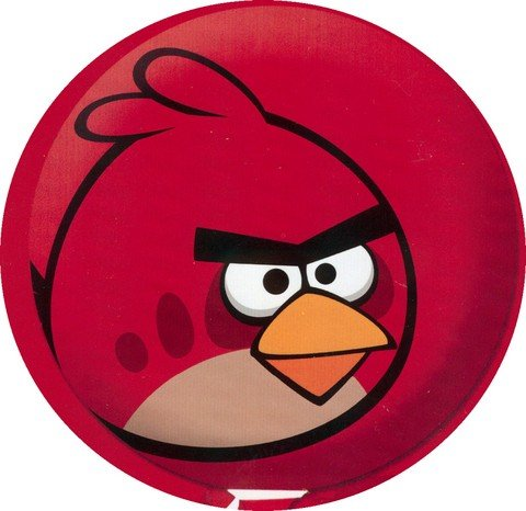 Palloncini a elio rossi Angry Birds