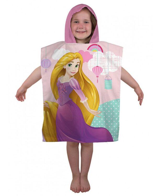 Accappatoio poncho con cappuccio Principesse Disney Enchanting