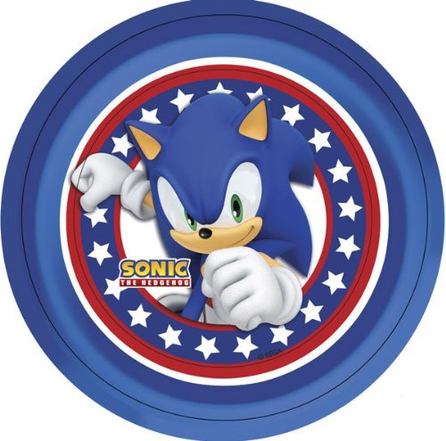 Piatti festa Sonic The Hedgehog
